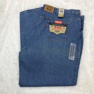 LEVI'S 634 Relaxed Tapered Leg 50 x 34 Jeans